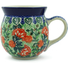 16 oz Stoneware Bubble Mug - Polmedia Polish Pottery H7144C