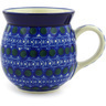 16 oz Stoneware Bubble Mug - Polmedia Polish Pottery H8542F
