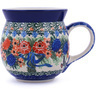 16 oz Stoneware Bubble Mug - Polmedia Polish Pottery H9216G
