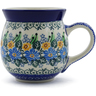 16 oz Stoneware Bubble Mug - Polmedia Polish Pottery H9536A