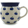 16 oz Stoneware Bubble Mug - Polmedia Polish Pottery H9606A