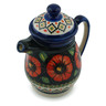 16 oz Stoneware Pitcher with Lid - Polmedia Polish Pottery H5374I