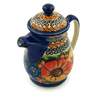 16 oz Stoneware Pitcher with Lid - Polmedia Polish Pottery H6178I