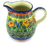 17 oz Stoneware Pitcher - Polmedia Polish Pottery H3556G