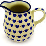 17 oz Stoneware Pitcher - Polmedia Polish Pottery H4960D