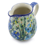 17 oz Stoneware Pitcher - Polmedia Polish Pottery H7892I
