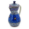 17 oz Stoneware Pitcher with Lid - Polmedia Polish Pottery H2803C