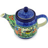 17 oz Stoneware Tea or Coffee Pot - Polmedia Polish Pottery H3773G