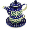17 oz Stoneware Tea Set for One - Polmedia Polish Pottery H5849A