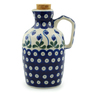 18 oz Stoneware Bottle - Polmedia Polish Pottery H6061I