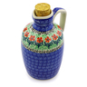 18 oz Stoneware Bottle - Polmedia Polish Pottery H6942I