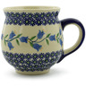 19 oz Stoneware Bubble Mug - Polmedia Polish Pottery H9554J