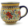 19 oz Stoneware Bubble Mug - Polmedia Polish Pottery H9643J