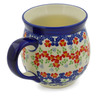 19 oz Stoneware Bubble Mug - Polmedia Polish Pottery H9748J