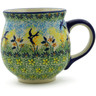 19 oz Stoneware Bubble Mug - Polmedia Polish Pottery H9915J