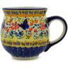 19 oz Stoneware Bubble Mug - Polmedia Polish Pottery H9956J
