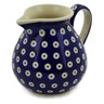 19 oz Stoneware Pitcher - Polmedia Polish Pottery H2596K