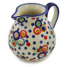 19 oz Stoneware Pitcher - Polmedia Polish Pottery H2747K