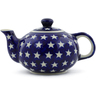 19 oz Stoneware Tea or Coffee Pot - Polmedia Polish Pottery H0931G