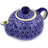 19 oz Stoneware Tea or Coffee Pot - Polmedia Polish Pottery H6777D
