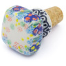 2-inch Stoneware Bottle Stopper - Polmedia Polish Pottery H3053I