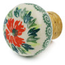 2-inch Stoneware Bottle Stopper - Polmedia Polish Pottery H6076K