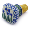 2-inch Stoneware Bottle Stopper - Polmedia Polish Pottery H7261I