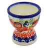 2-inch Stoneware Egg Holder - Polmedia Polish Pottery H4051K