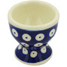 2-inch Stoneware Egg Holder - Polmedia Polish Pottery H7826G
