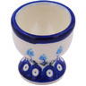 2-inch Stoneware Egg Holder - Polmedia Polish Pottery H7844G