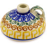 2-inch Stoneware Mini Bottle - Polmedia Polish Pottery H1438D