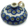 2-inch Stoneware Mini Bottle - Polmedia Polish Pottery H5218A