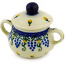2-inch Stoneware Mini Sugar Bowl - Polmedia Polish Pottery H0652D