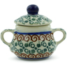 2-inch Stoneware Mini Sugar Bowl - Polmedia Polish Pottery H3137C