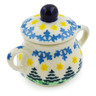 2-inch Stoneware Mini Sugar Bowl - Polmedia Polish Pottery H7950J
