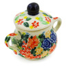 2-inch Stoneware Mini Sugar Bowl - Polmedia Polish Pottery H7959J