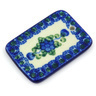 2-inch Stoneware Rectangle Pendant - Polmedia Polish Pottery H6109G