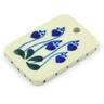 2-inch Stoneware Rectangle Pendant - Polmedia Polish Pottery H6643G