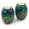 2-inch Stoneware Salt and Pepper Set - Polmedia Polish Pottery H5735G