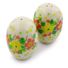2-inch Stoneware Salt and Pepper Set - Polmedia Polish Pottery H8365I