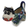 2 oz Stoneware Cow Shaped Creamer - Polmedia Polish Pottery H6093I