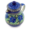 20 oz Stoneware Pitcher with Lid - Polmedia Polish Pottery H3477A