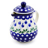 20 oz Stoneware Pitcher with Lid - Polmedia Polish Pottery H4728G