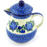20 oz Stoneware Pitcher with Lid - Polmedia Polish Pottery H6943G