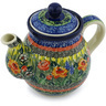 20 oz Stoneware Tea or Coffee Pot - Polmedia Polish Pottery H2381H
