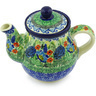 20 oz Stoneware Tea or Coffee Pot - Polmedia Polish Pottery H3322G