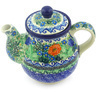 20 oz Stoneware Tea or Coffee Pot - Polmedia Polish Pottery H3796G