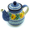 20 oz Stoneware Tea or Coffee Pot - Polmedia Polish Pottery H4823H