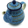 20 oz Stoneware Tea or Coffee Pot - Polmedia Polish Pottery H4929H