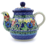 20 oz Stoneware Tea or Coffee Pot - Polmedia Polish Pottery H5345I